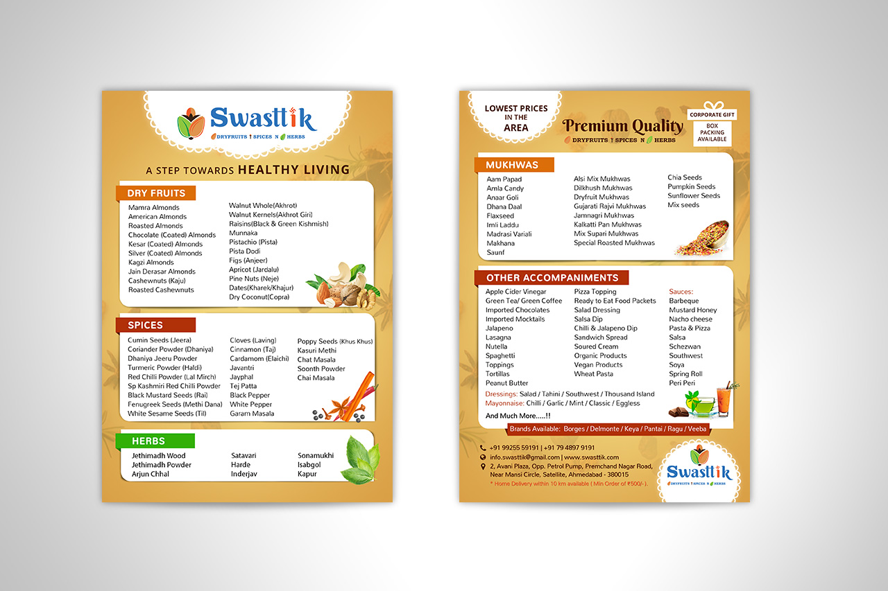 Swasttik Marketing Material - Flyer