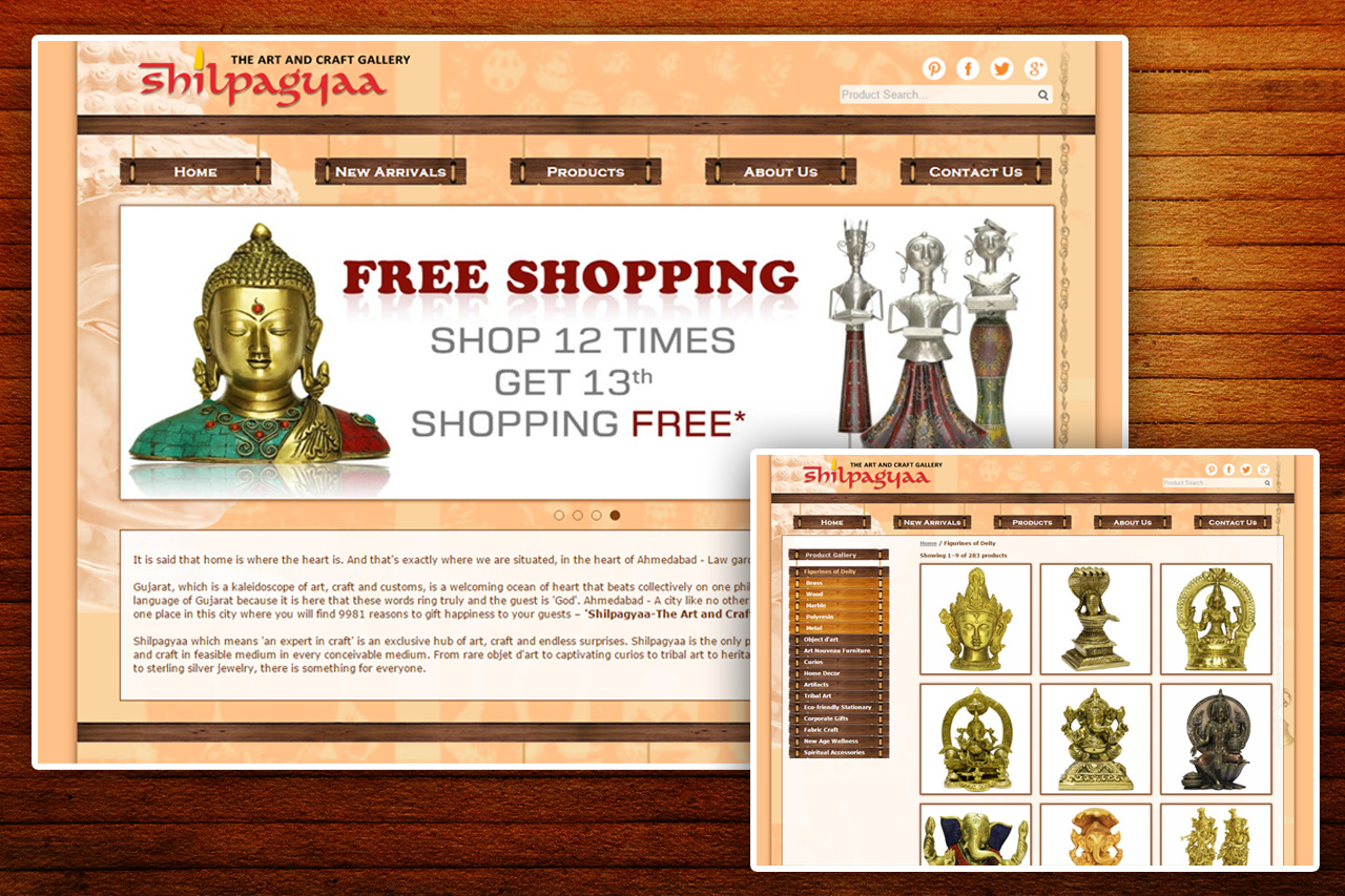 Shilpagyaa - Website