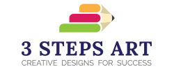 3 Steps Art logo